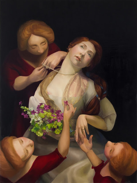 Bride | 2012 | Oil on Canvas | 48x36in. | Laura Krifka
