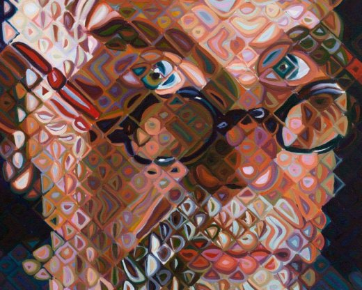 Self-portrait | 2012 | Chuck Close