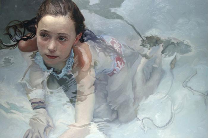 Fixation | oil on linen | 48x72 | Alyssa Monks