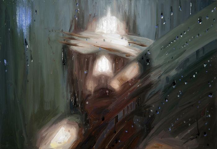 Smear | 10x16 | oil on panel | 2012 | Alyssa Monks