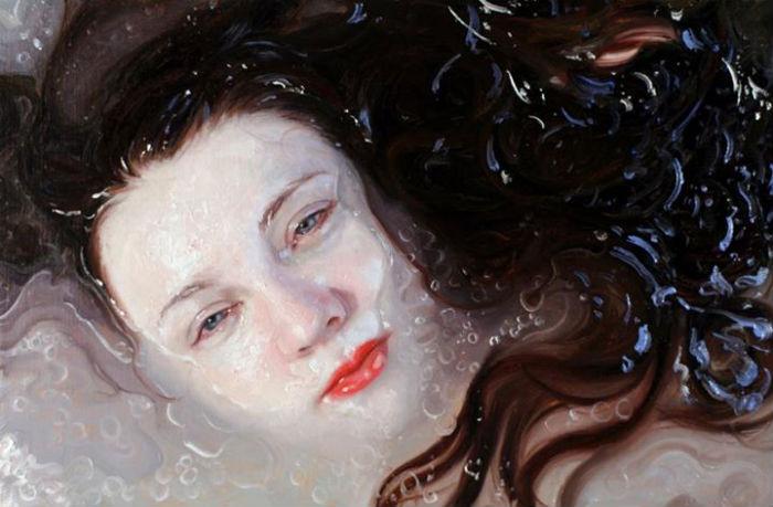 Purple | oil on panel | 6.75x10 | Alyssa Monks