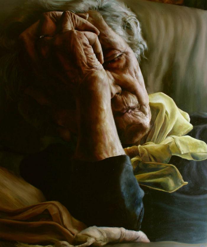 Yellow Scarf | Cherylene Dyer