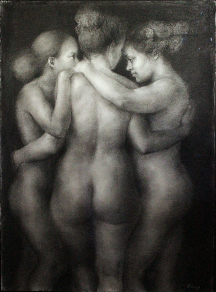The Three Graces Helene Knoop 700