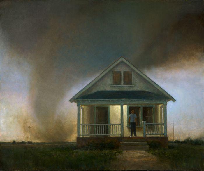 Arrival | 50 x 60 | oil on canvas | John Brosio