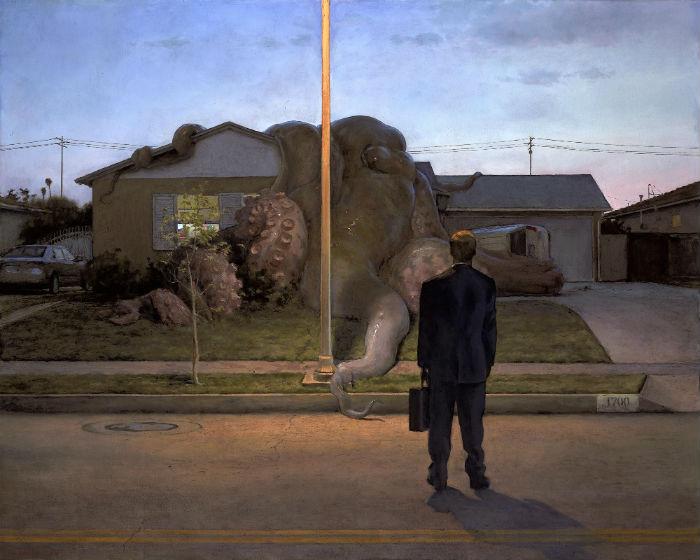 Fatigue | 48 x 60 | oil on canvas | John Brosio