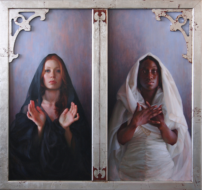 "Universal Mother of Compassion | 48"" x 48"" 