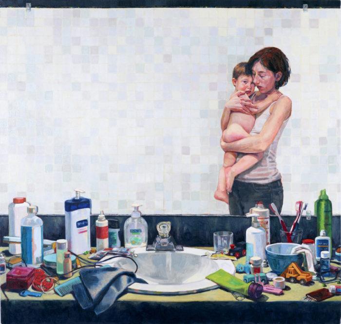 Interior (Lukas) | 40 x 42 | Christina Sealey
