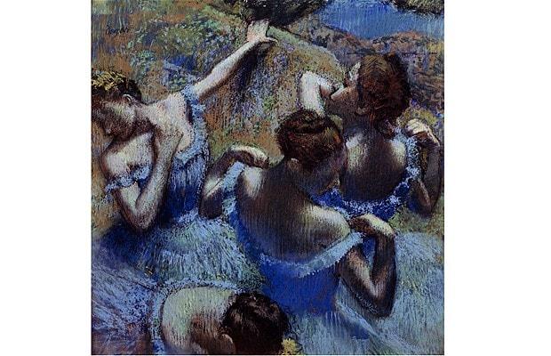 Dancers in Blue | Edgar Degas
