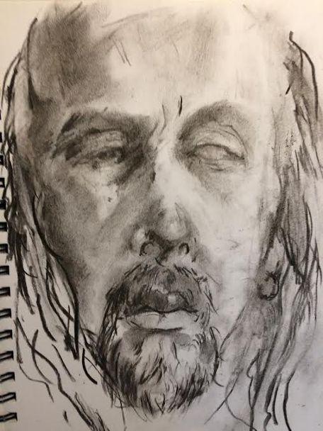 Self-portrait | Jaakko Savolainen