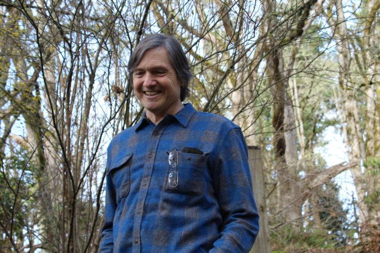 Raymond Frey, astrophysicist, Head of University of Oregon's Physics Department (Photo: Deanna Piowaty)