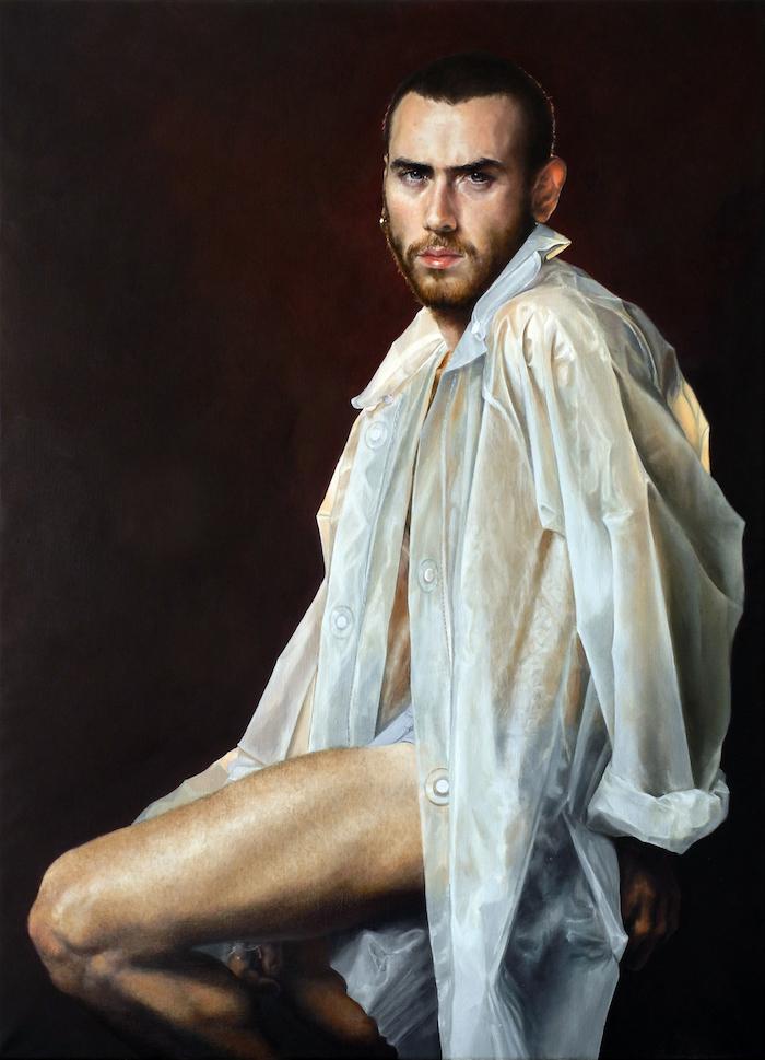 My Insatiable One | oil on linen | 28.75x39.5 |Alessandro Tomassetti