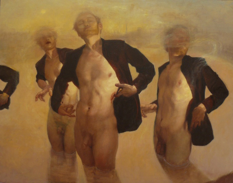 Baptism (SOLD) | oil | 28.7 H x 36.2 W | Richard T. Scott