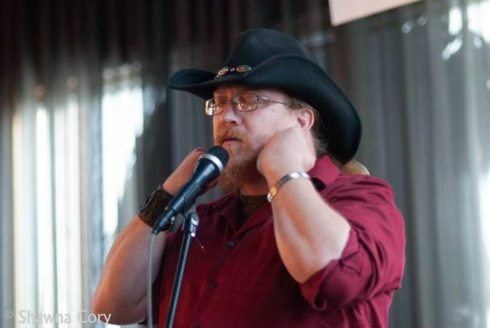 Spoken word poet/slam artist, Zachary Kluckman
