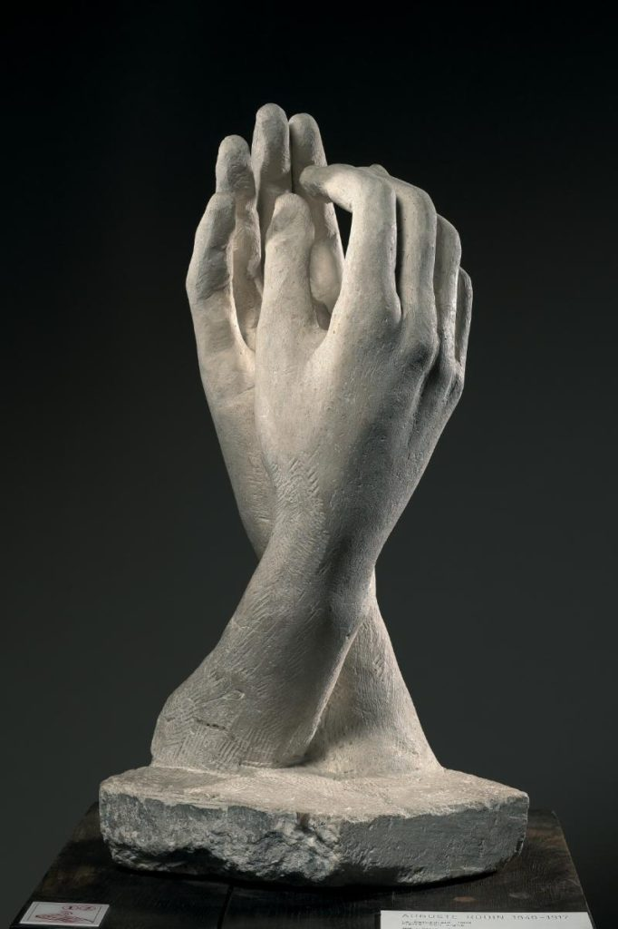 The Cathedral | Auguste Rodin 1840 -1917) | 1908 | Stone H. 64 cm ; W. 29.5 cm ; D. 31.8 cm