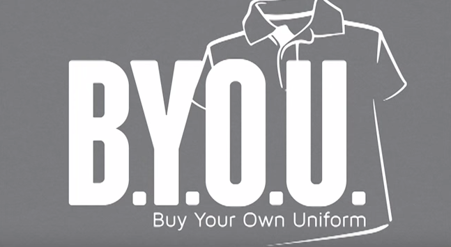 BYOU: Uniforms Made Easy