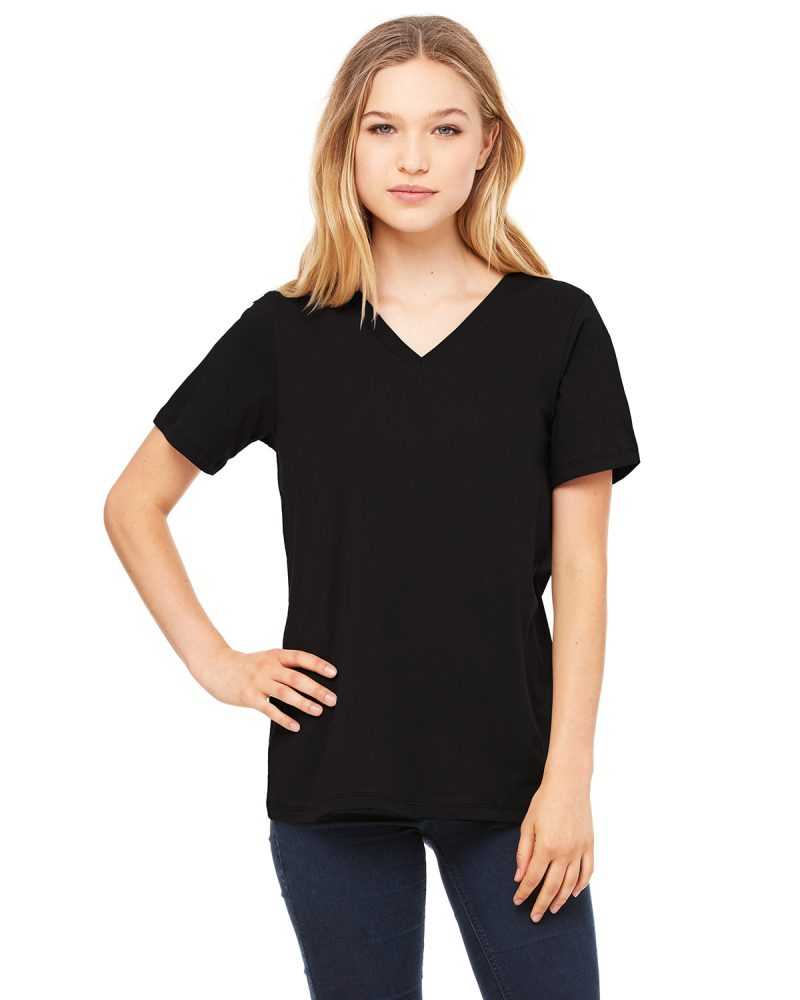 Bella+Canvas Ladies Relaxed Vneck 6405