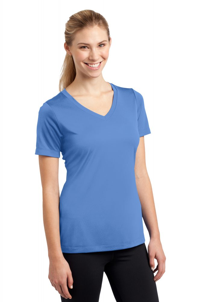 Sport-Tek Ladies Performance Vneck