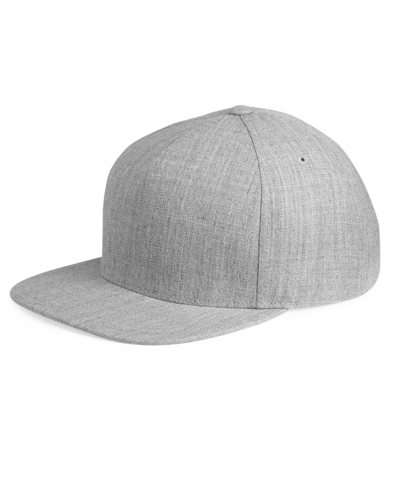 Yupoong 5 Panel Wool Blend Snapback – 5089M