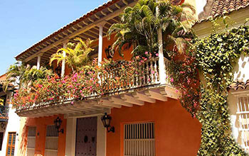 Colonial House in Cartagena