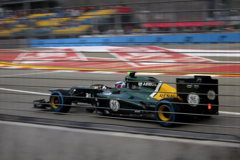 Singapore Grand Prix car