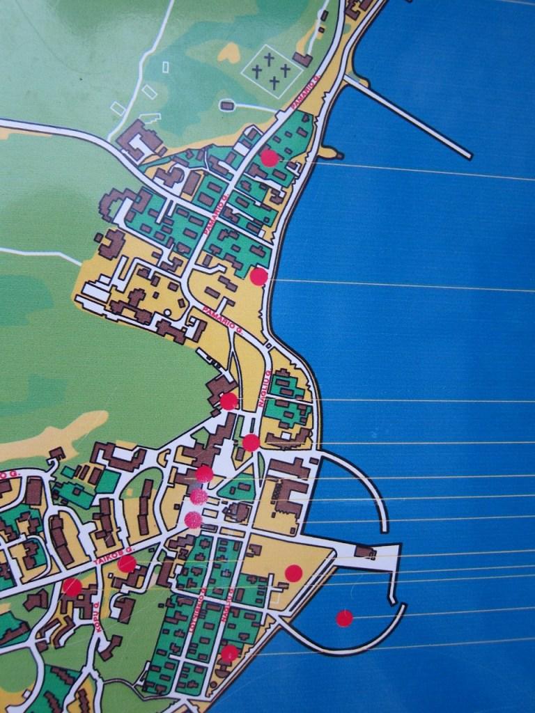 Neringa map