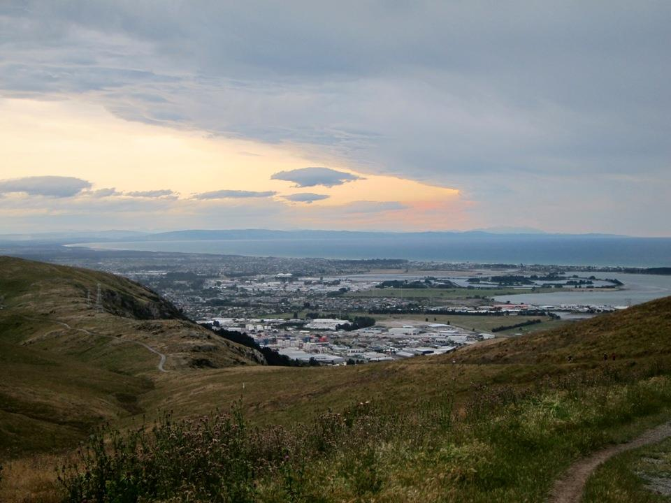 The view of Christchurch
