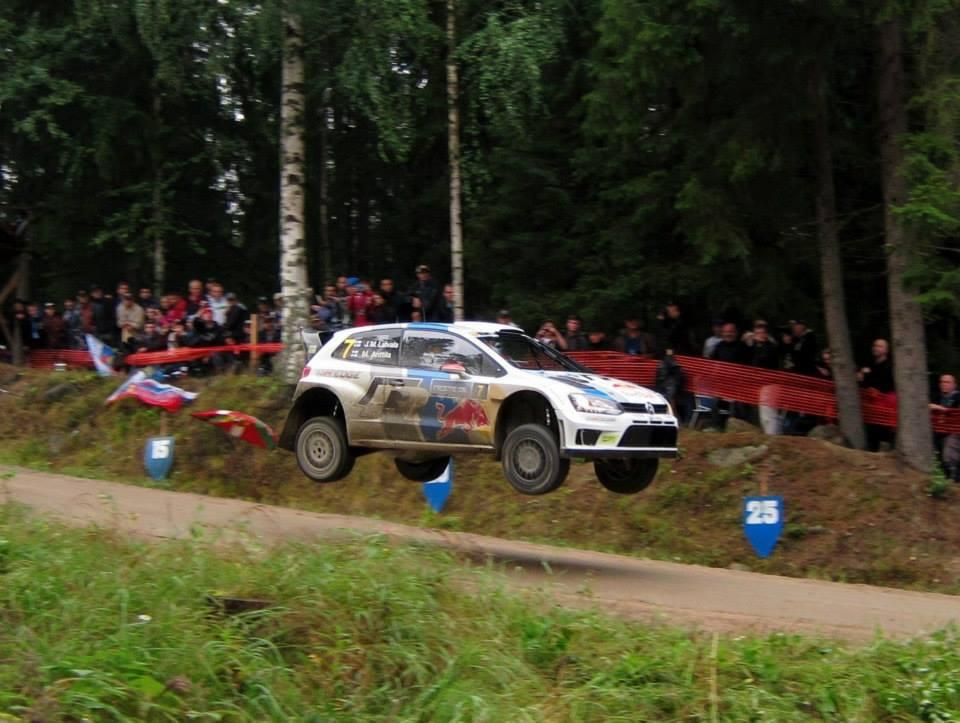 Jari-Matti Latvala VW Polo WRC