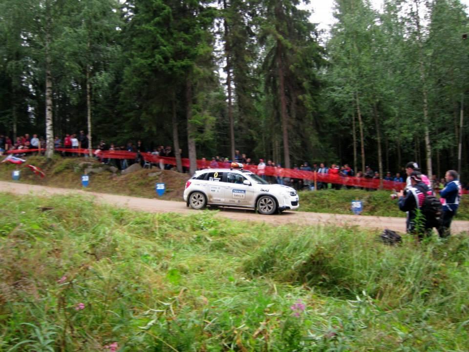 Rally Finland course car