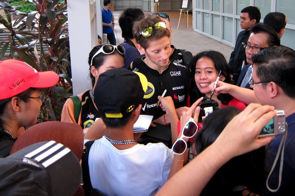 f1 autographs