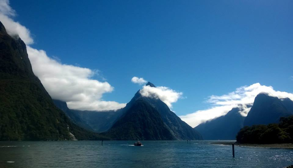 The Best Place to be in Milford Sound isn't on a Boat 3