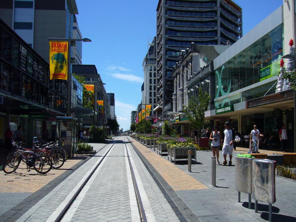 Christchurch High Street