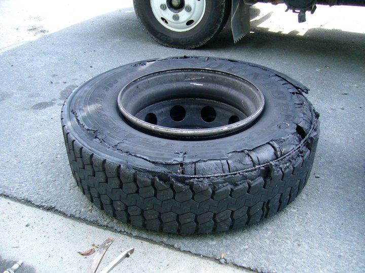Tyre delays