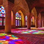 The Stunning Stained Glass Light Show at Nasir ol-Molk (Nasir al-Mulk) Mosque