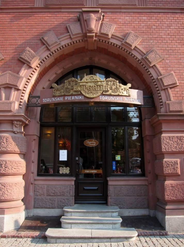 Pierniki shop in Artus Court, Torun