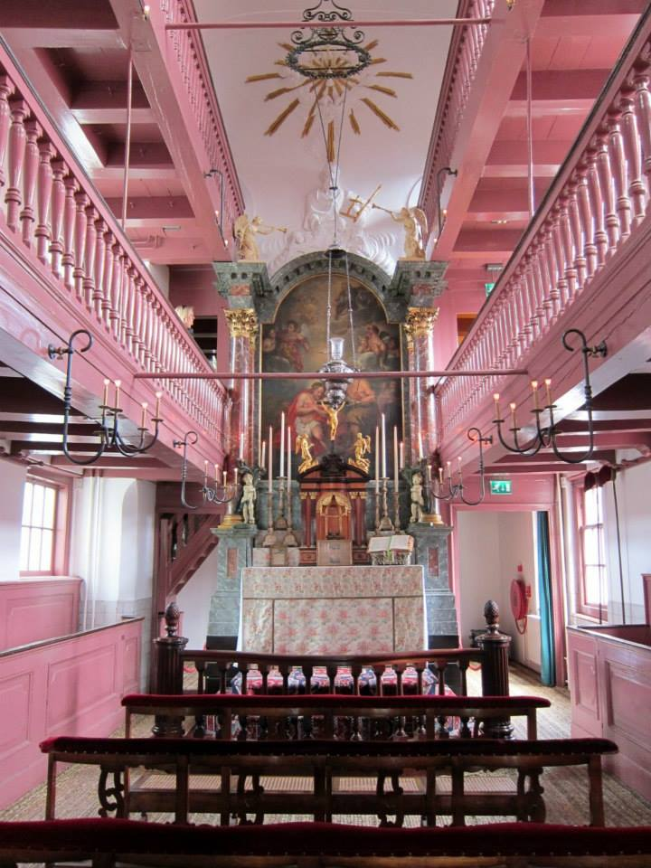 Our Lord in the Attic hidden church