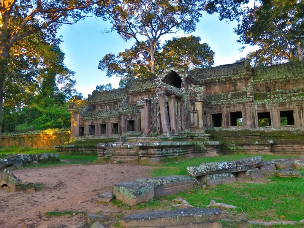 Angkor Wat east