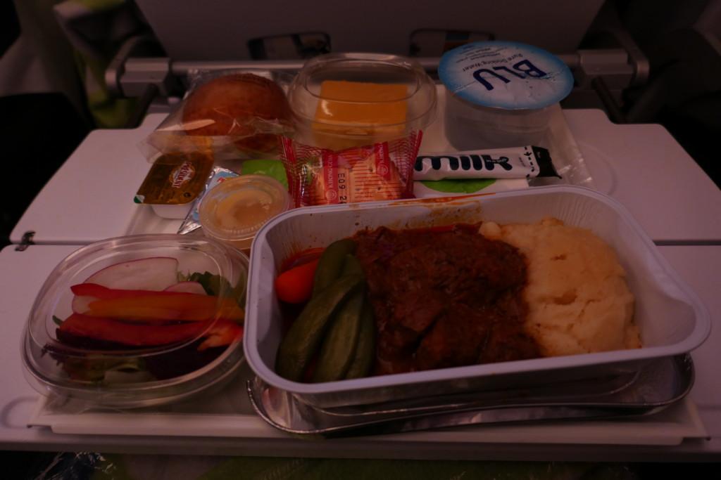 Finnair AY132 supper
