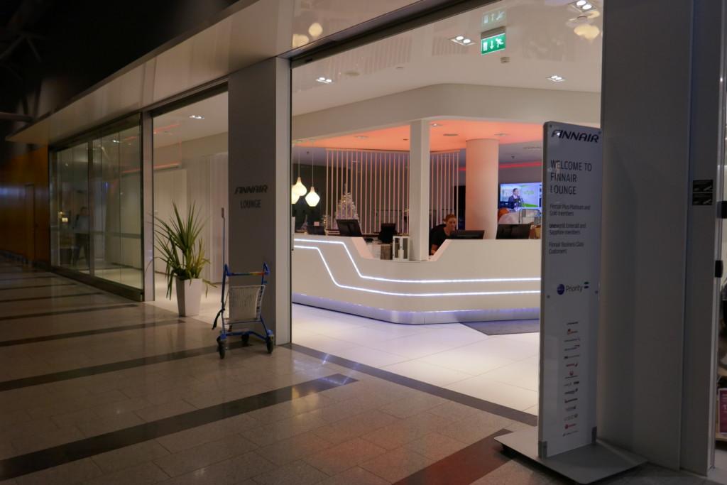Finnair non-Schengen lounge