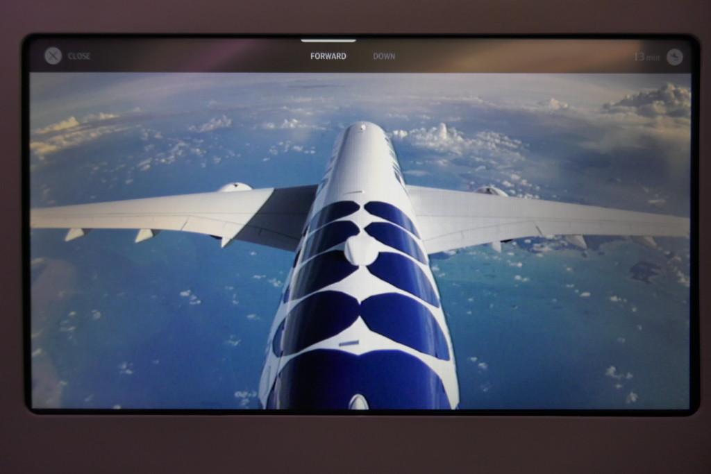 Finnair A350 tail camera