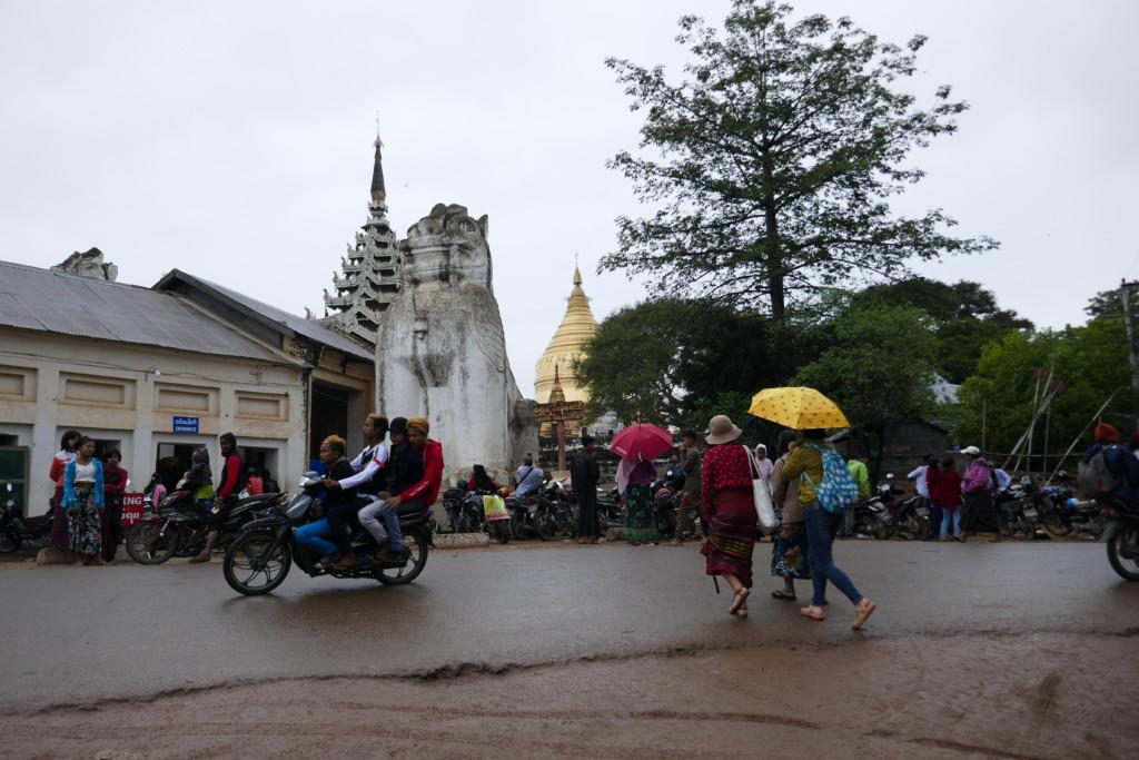 Shwezigon in Bagan