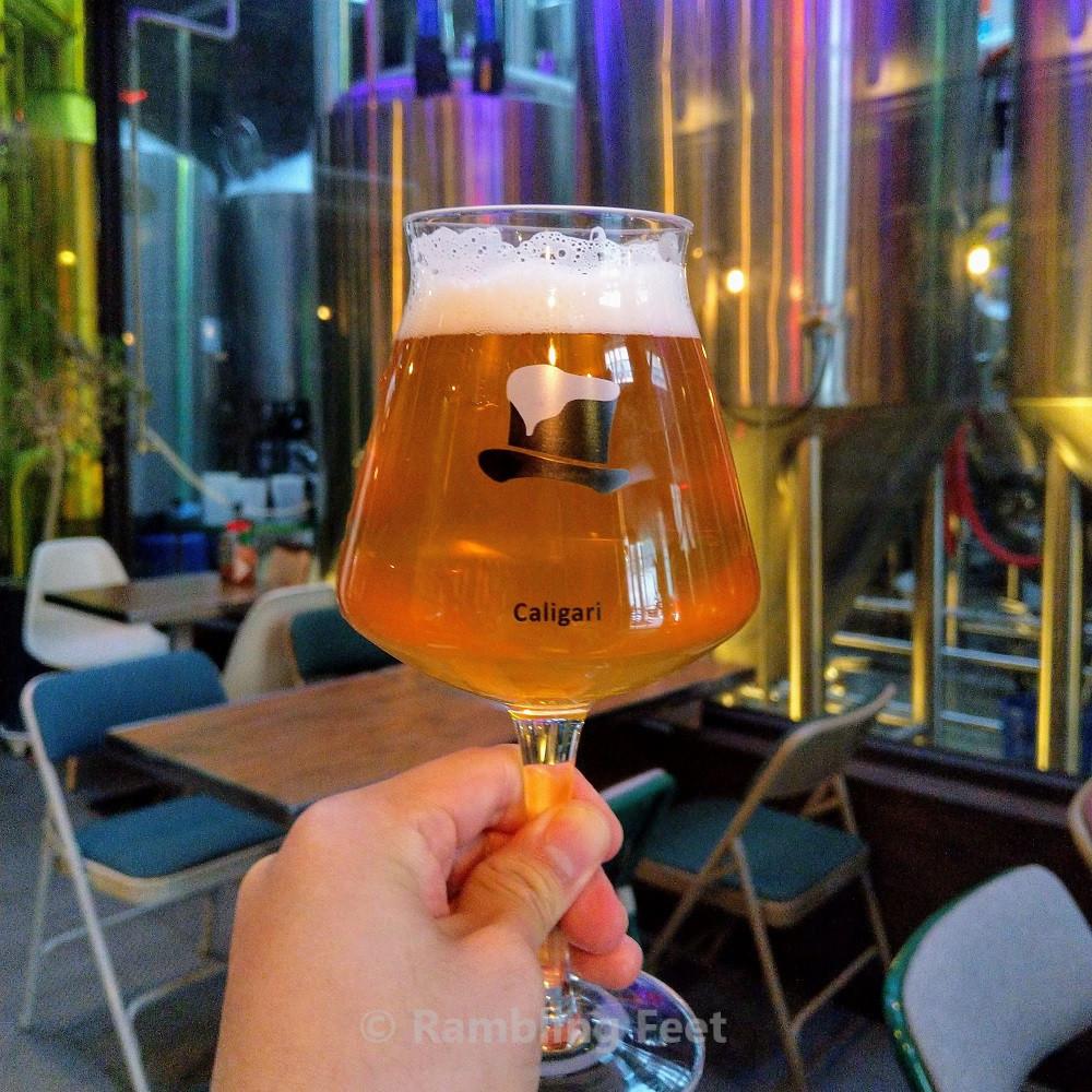 korean craft breweries caligari