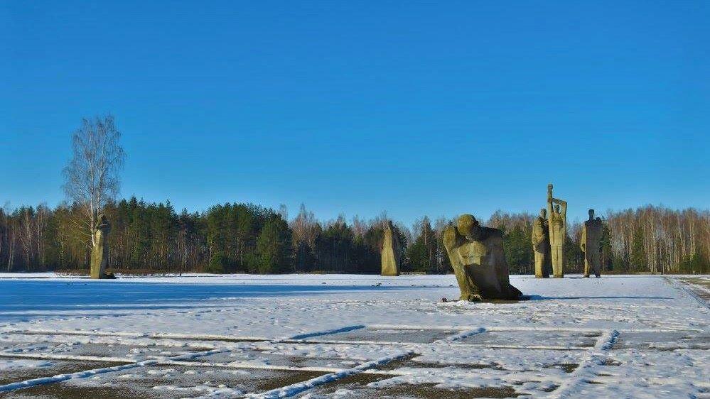 salaspils memorials sculptures 2