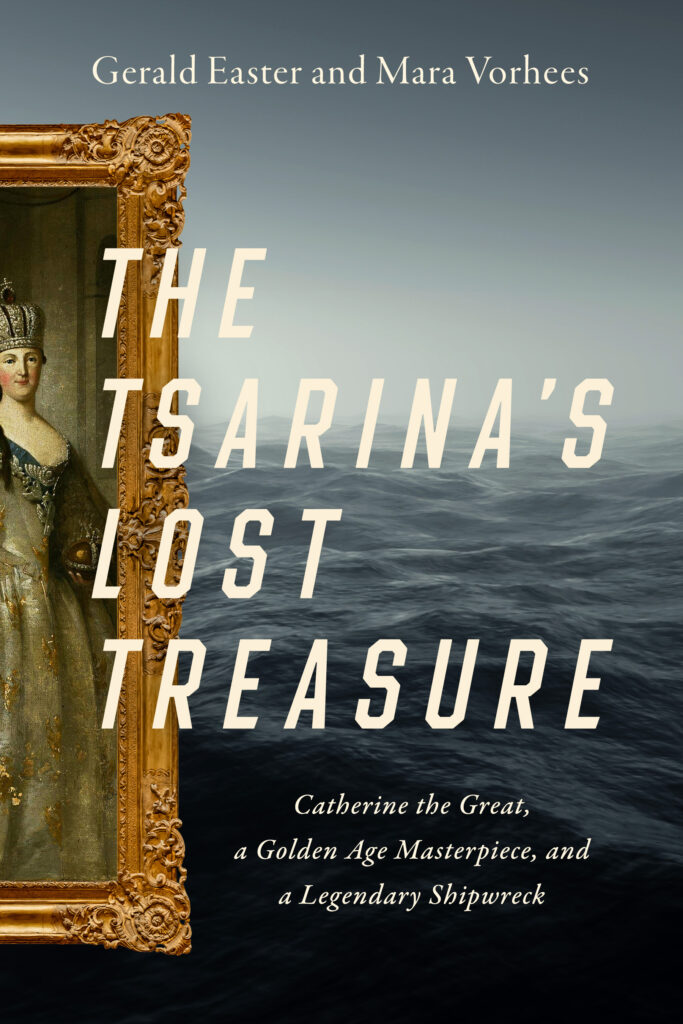 Shows the cover of the book The Tsarina's Lost Treasure