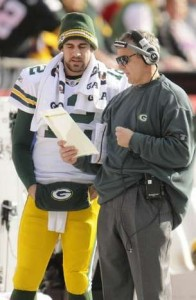 Aaron Rodgers Tom Clements Packers