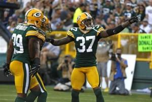 Packers 2012 Cornerbacks Sam Shields and Casey Hayward