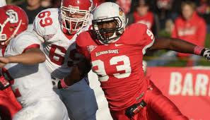 Packers sixth round pick in the 2013 NFL draft, Nate Palmer, OLB, Illinois St.