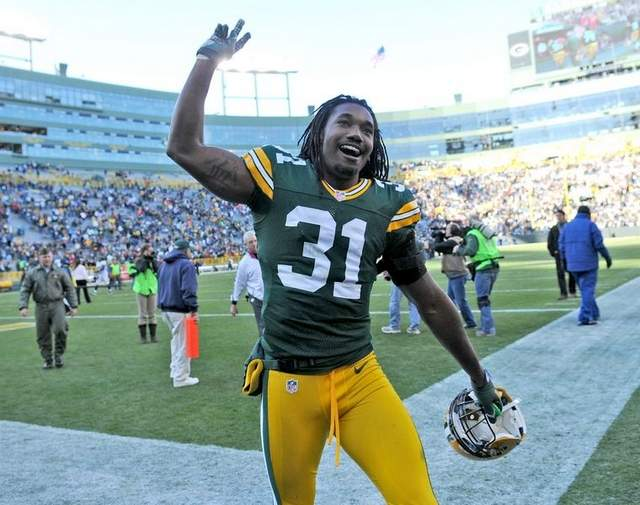 Packers cornerback Davon House may have been the most impressive player at Wednesday's practice.