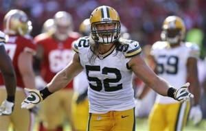 """Clay Matthews admitted that his hit on Kaepernick """"wasn't very smart,"""" and he's been fined $15,000."""