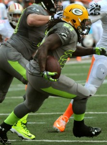 Packers running back was a Pro Bowler and Offensive Rookie of the Year.