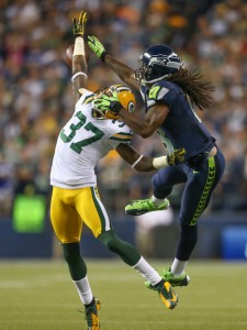 Cornerback Sam Shields excels at man-to-man coverage.